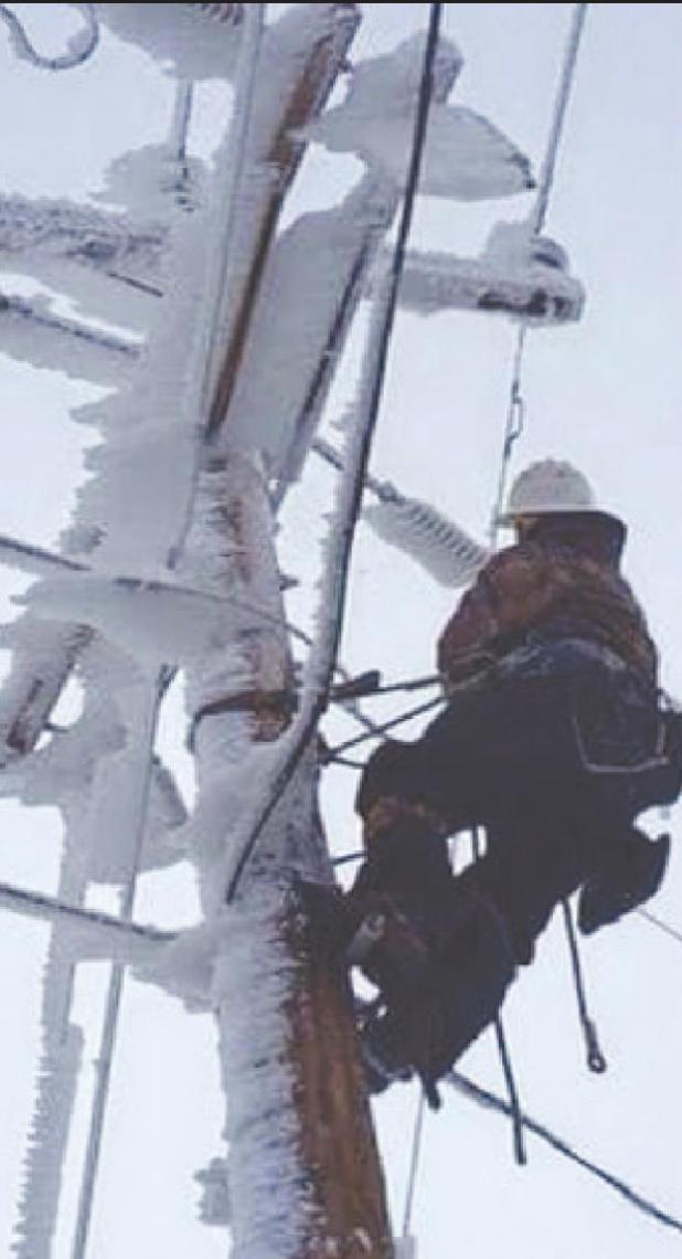 Linemen to the rescue...