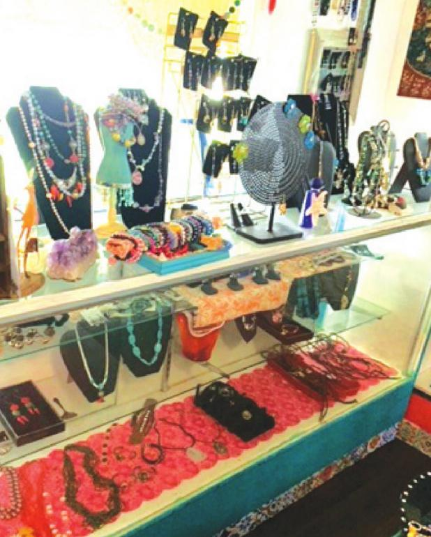 New Pepper Street Market offers jewelry creations and succulents