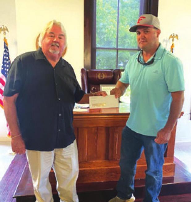 Ranch Enterprises donates $15,000 to local EMS