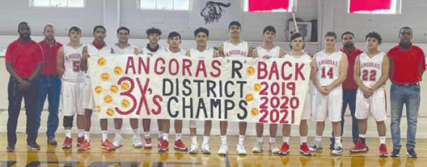 Rocksprings Angora basketball