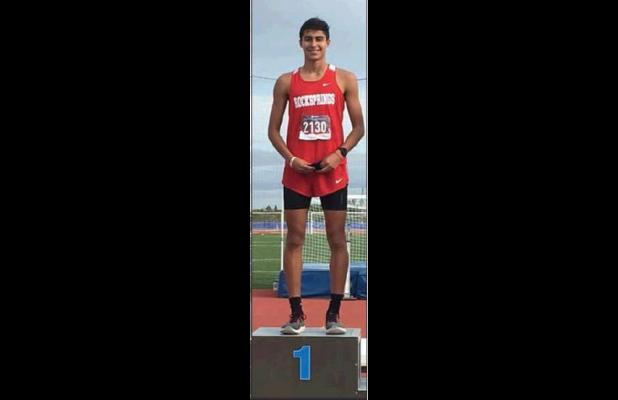 Flores is Regional Cross Country Champ Three qualify for State Meet