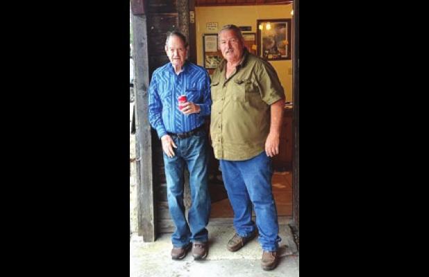 Kenneth and son Kenny Sorrells