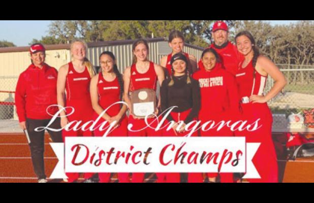 Lady Angoras – District track & field champs!