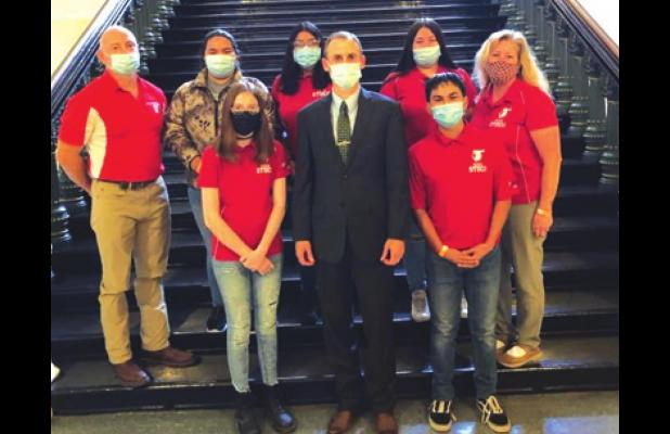 RISD Student Council returns from trip to see how the government really works