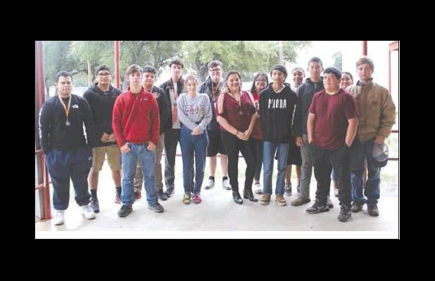 RHS UIL competes Ozona UIL . RHS students sweep computer apps competition at Ozona