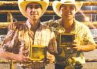 Texas County Team Roping, Edwards County winners