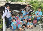 RISD first graders visit Devil's Sinkhole